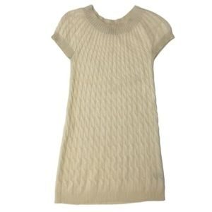 BILL BLASS new york $540 cashmere cable sweater S